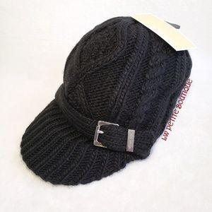 Michael Kors Knit Newsboy Hat
